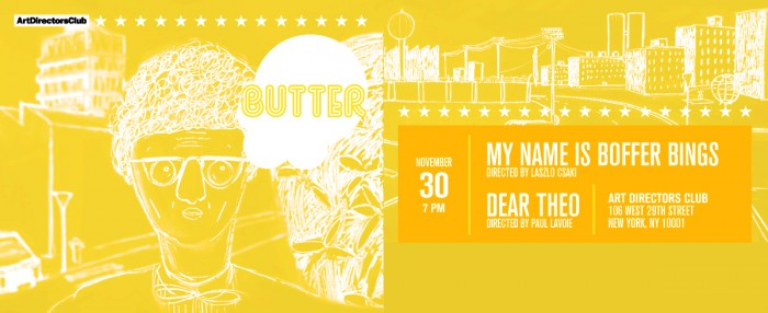 BUTTER: A NIGHT OF POP CULTURE AND POPCORN_poster