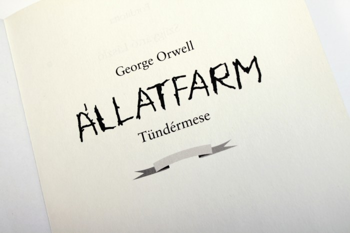 George Orwell: Animal Farm | George Orwell: Állatfarm_14
