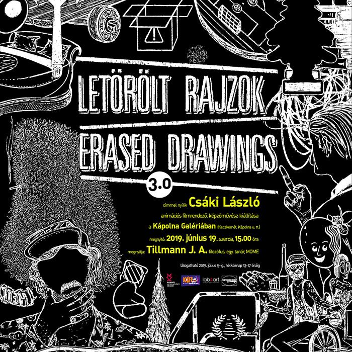 Letörölt rajzok | Erased Drawings 3.0_flyer