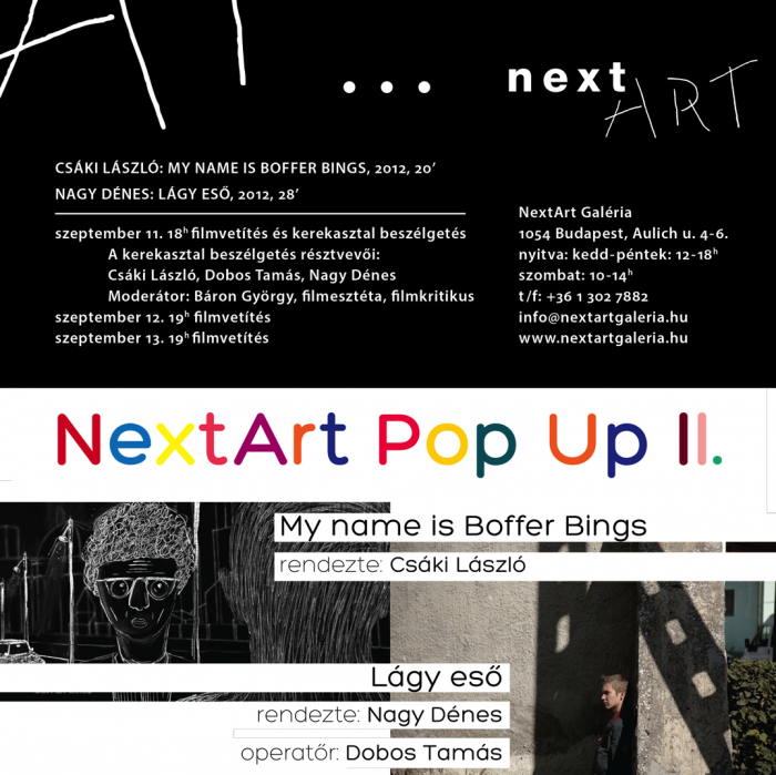 NextArt Pop Up II.