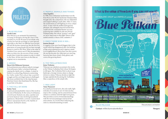 Blue Pelikan pitch page