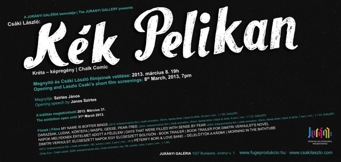 Kk Pelikan | Blue Pelikan meghv | invitation