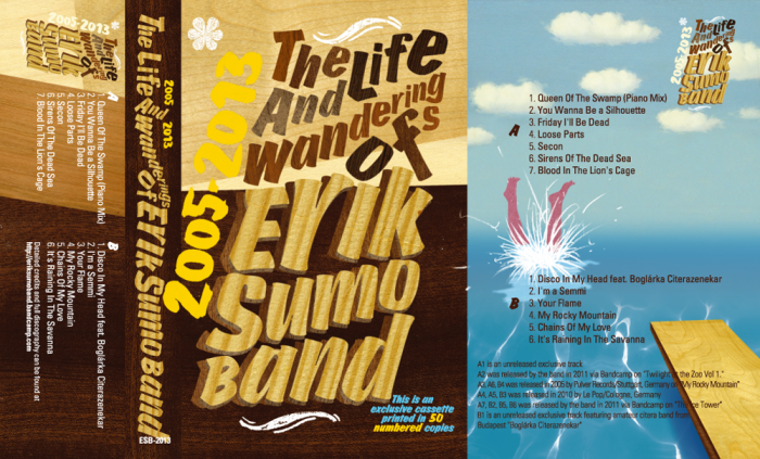 Erik Sumo Band cassette tape cover