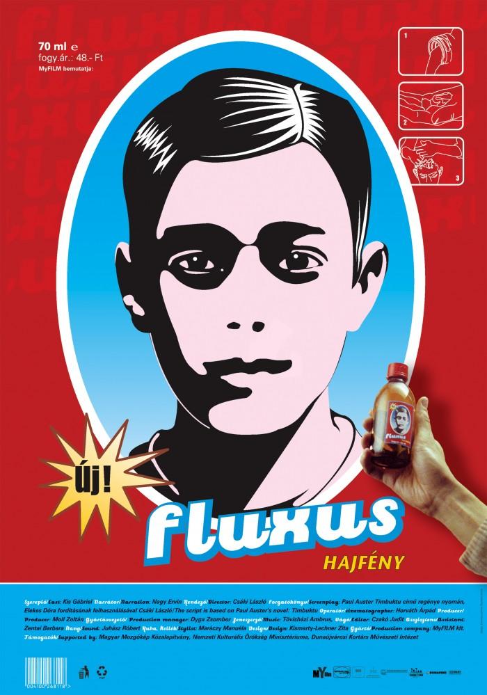 Fluxus Hair Tainer | Fluxus Hajfény_poster