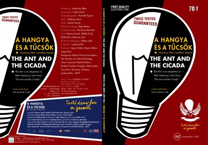 The Ant and the Cicada | A hangya és a tücsök slim dvd cover