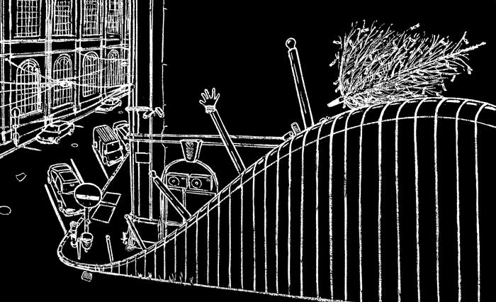 Letörölt rajzok | Erased Drawings_034