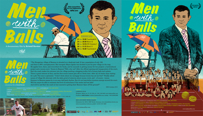 Men with Balls flyer_poster