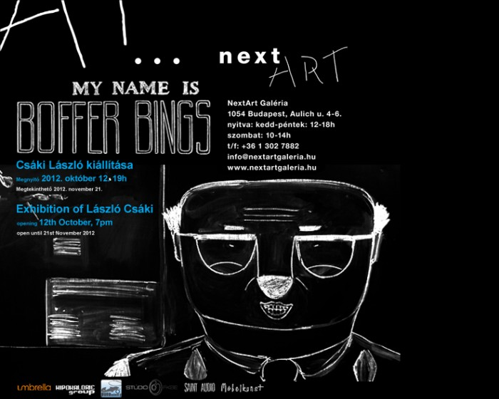 My Name is Boffer Bings invitation