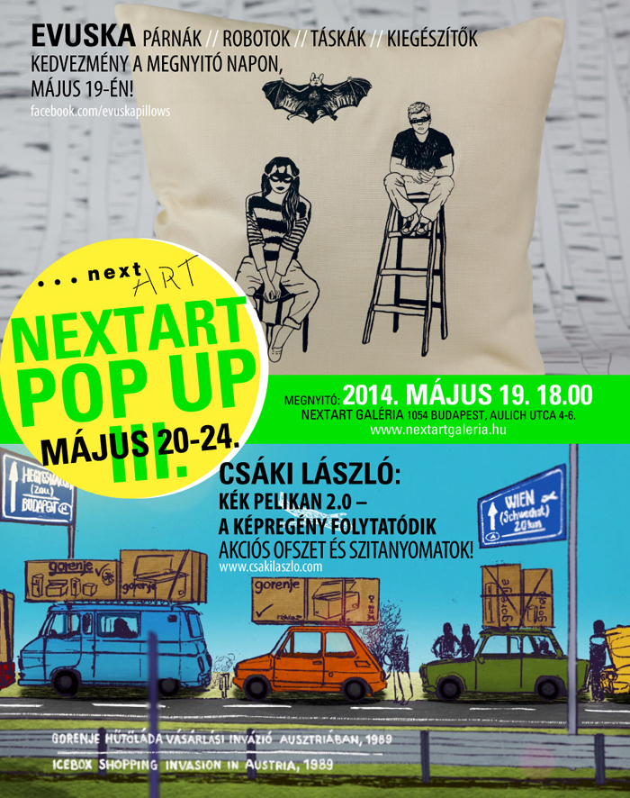 NextArt Pop Up III._meghivo