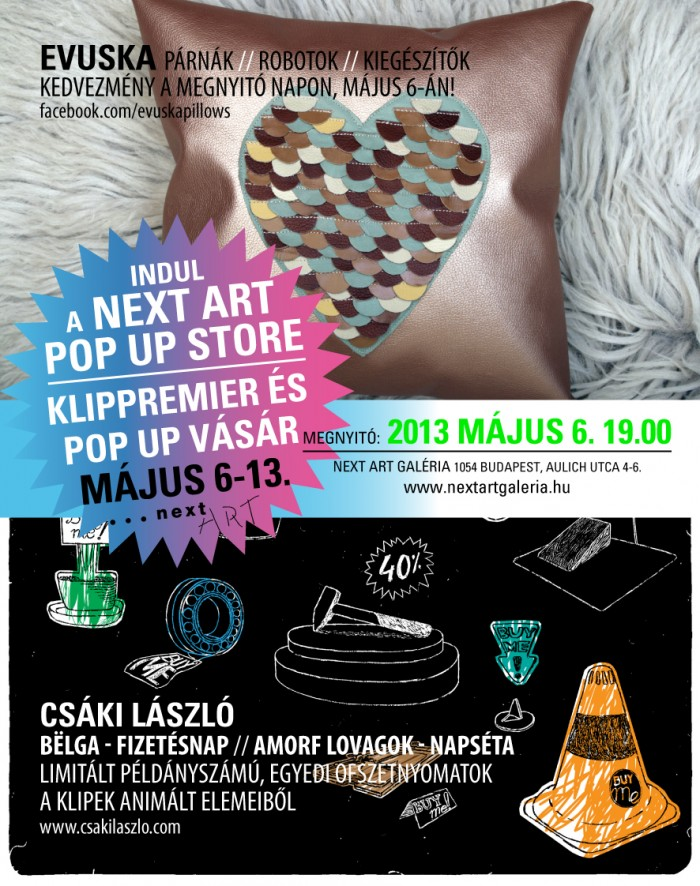 Next Art Pop Up Store meghivo_02
