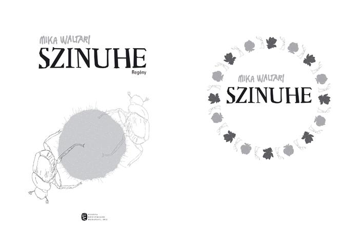 Mika Waltari_Szinuhe_book cover_02