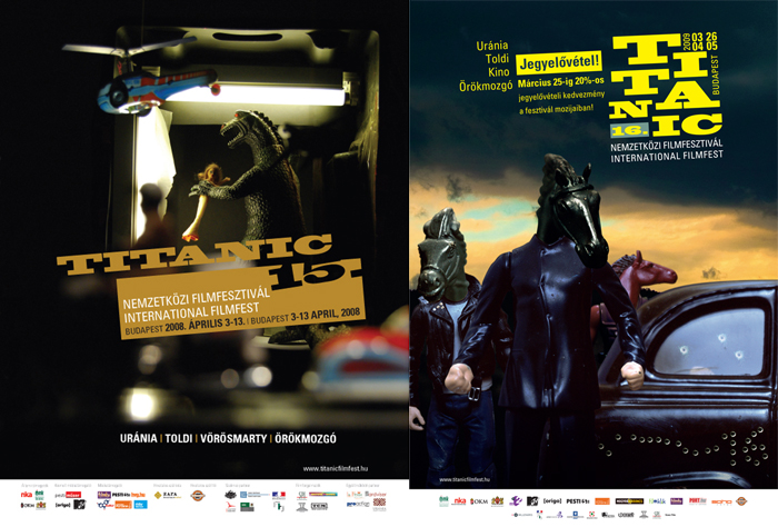 Titanic 15._16. International filmfest poster