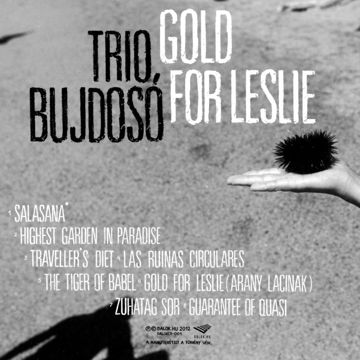 Trio Bujdosó – Gold For Leslie_label