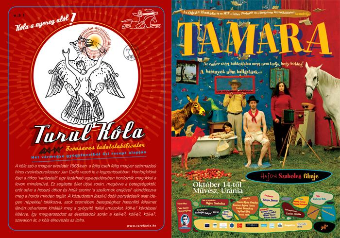 turul kola postcard_tamara poster
